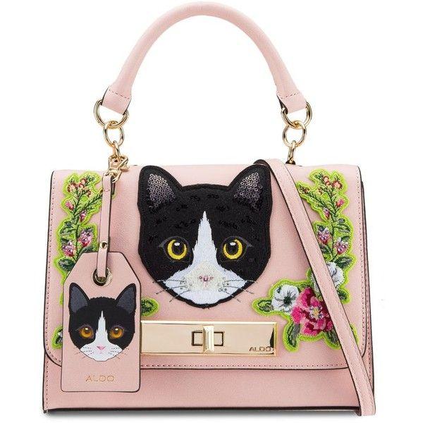 ALDO Corvara Top Handle Bag ❤ liked on Polyvore featuring bags, handbags, aldo, aldo handbags, handle handbag, handle bag and aldo bags