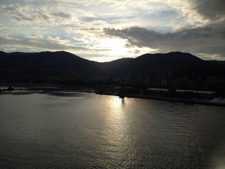Sunrise @ La Spezia