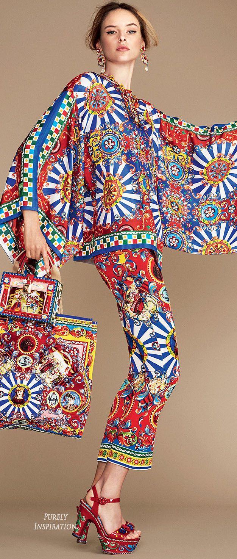 Dolce & Gabbana SS2016❇❇❇ Toda la inspiración de su querida Sicilia