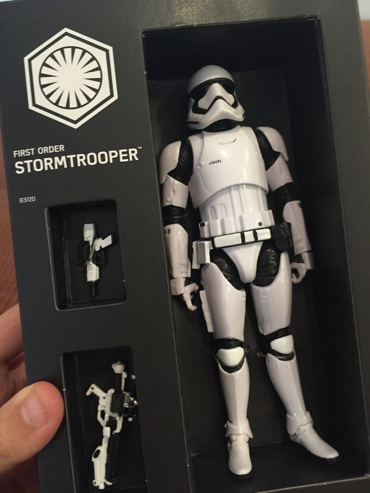Here's the incredibly detailed 'Star Wars Episode VII' Stormtrooper toy fans will be going crazy over at San Diego Comic-Con  Read more: http://www.businessinsider.com/star-wars-force-awakens-first-order-stormtrooper-sdcc-san-diego-2015-7#ixzz3ejOnKQom
