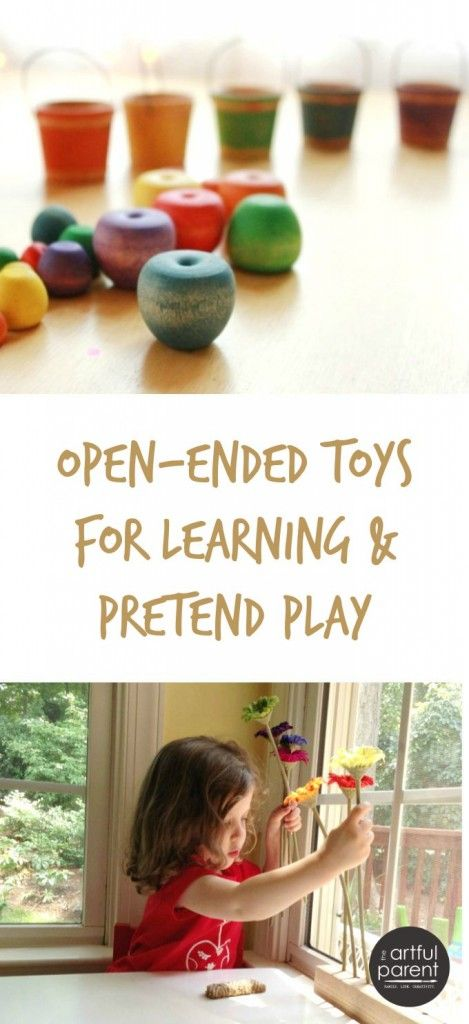 Kids Learning Toys - Using open-ended toys for learning and pretend-play
