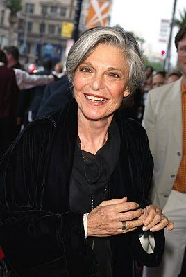 Anne Bancroft (September 17, 1931 – June 6, 2005).  She died at the age of  73  of uterine cancer.