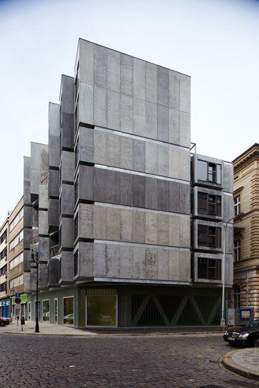 DaM architekti – Bytový dům s tělocvičnou Lodecká 1   Bydlení IQ