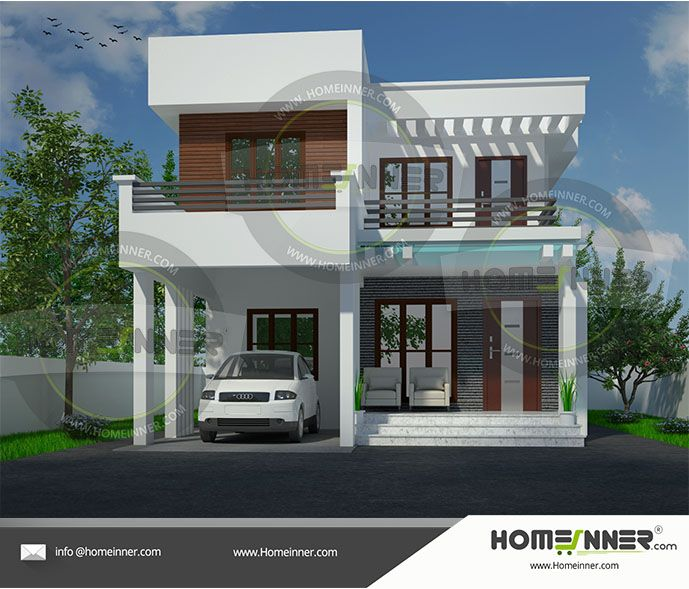20 Lakh 3 Bhk 1530 Sq Ft Mau Villa Floor Plan Kerala House Design Free House Plans House Plans