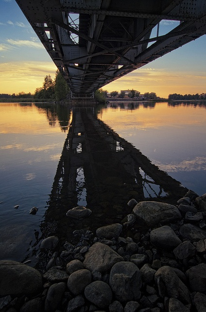 Railroad by Antti-Jussi Liikala, via Flickr This photo was taken on July 22, 2011 in Varkaus, Eastern Finland, FI, using a Nikon D7000.