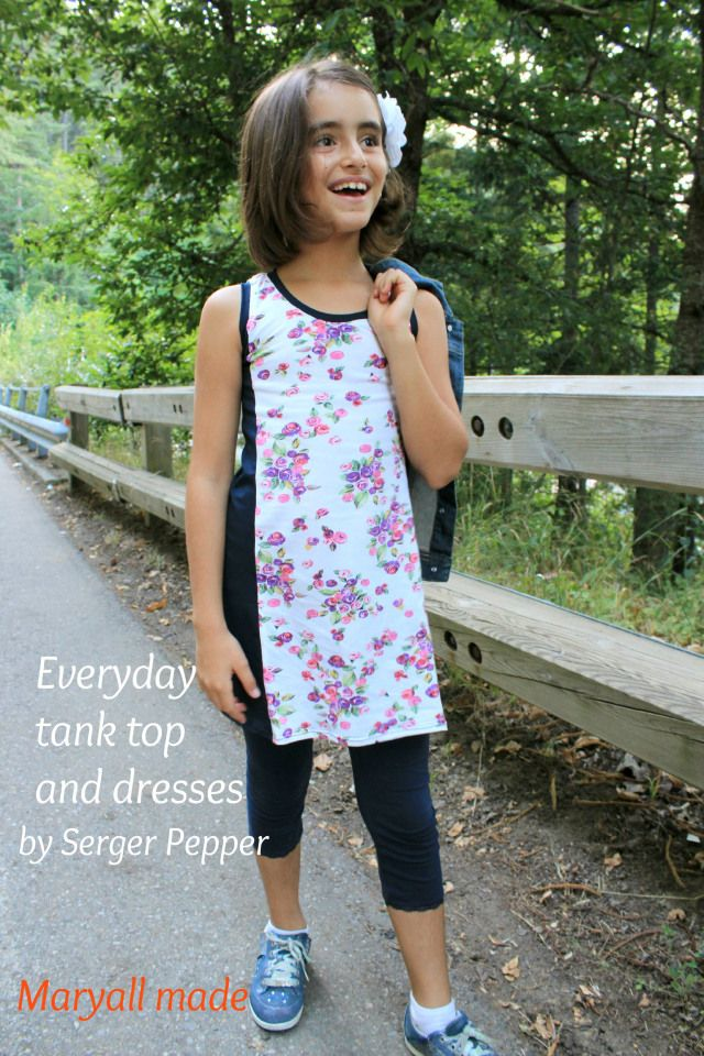 Everyday dress by Serger Pepper