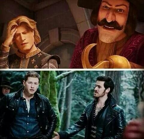 Charming and Hook | Once Upon A Time