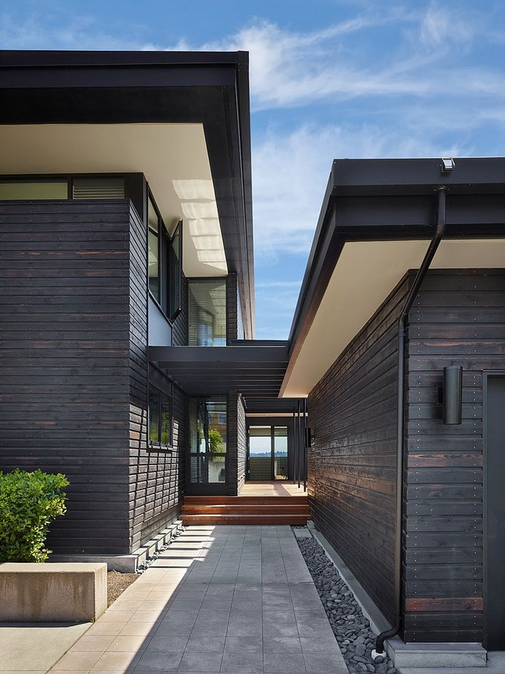 Modern House Exterior Design: Best 25+ Cedar Cladding Ideas On Pinterest