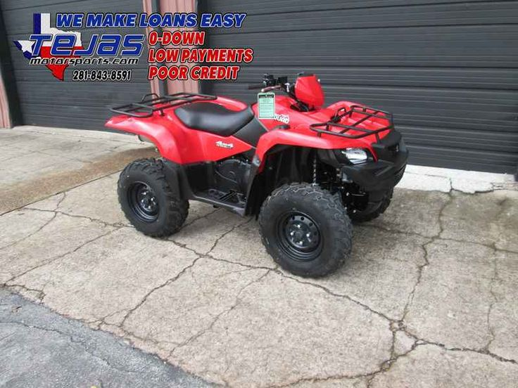 New 2017 Suzuki KingQuad 500AXi ATVs For Sale in Texas. 2017 Suzuki KingQuad 500AXi, 2017 Suzuki KingQuad 500AXi In 1983, Suzuki introduced the world's first 4-wheel ATV. Today, Suzuki ATVs are everywhere. From the most remote areas to the most everyday tasks, you'll find the KingQuad powering a rider onward. Across the board, our KingQuad lineup is a dominating group of ATVs. With a long list of technologically advanced features, the 2017 Suzuki KingQuad 500AXi is equally at home on tough…