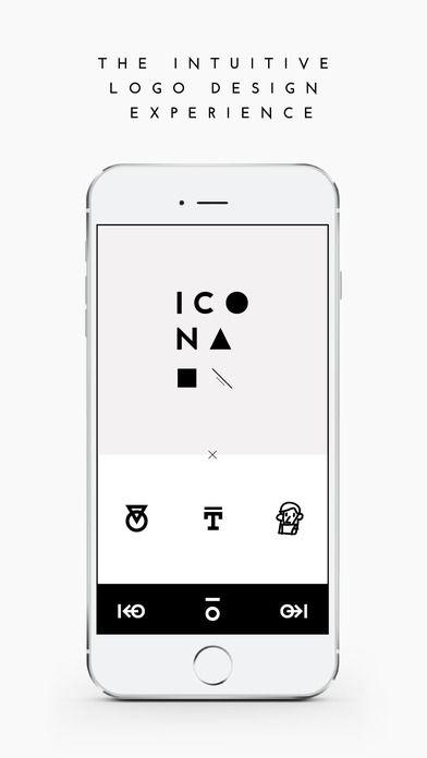 ICONA - Logo Designer Utilities Business iPhone App *** $4.99...: ICONA - Logo Designer Utilities Business… #iphone #Utilities #Business