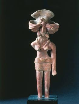 Pakistan, Mohenjo-daro, Terracotta figurine 26th–25th century B.C., Indus Valley art