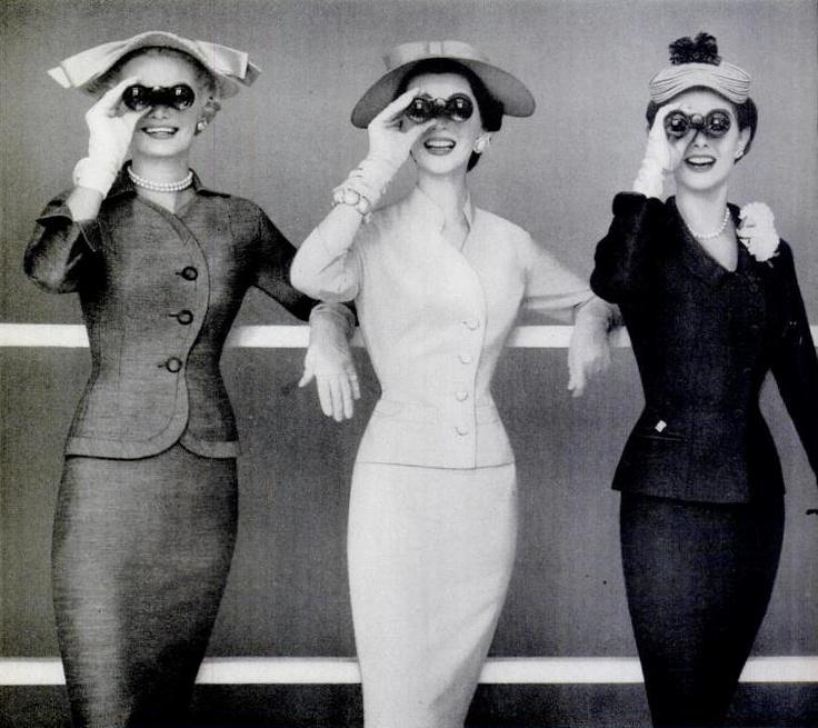 Las señoras con prismáticos