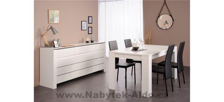 Nábytek do jídelny v sestavě Nolita-0382-Lea