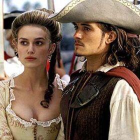 Orlando Bloom e Keira Knightley - Pirati dei caraibi