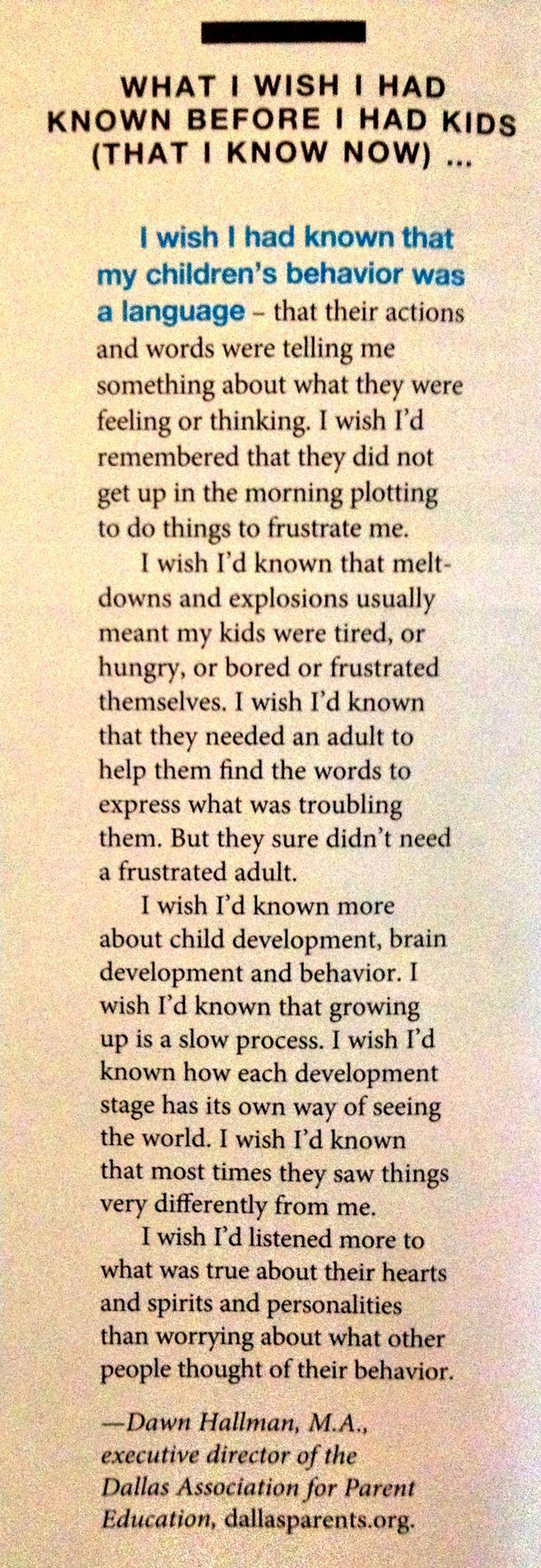 What I Wish I Had Known Before I Had Kids…Lyn Michaels
