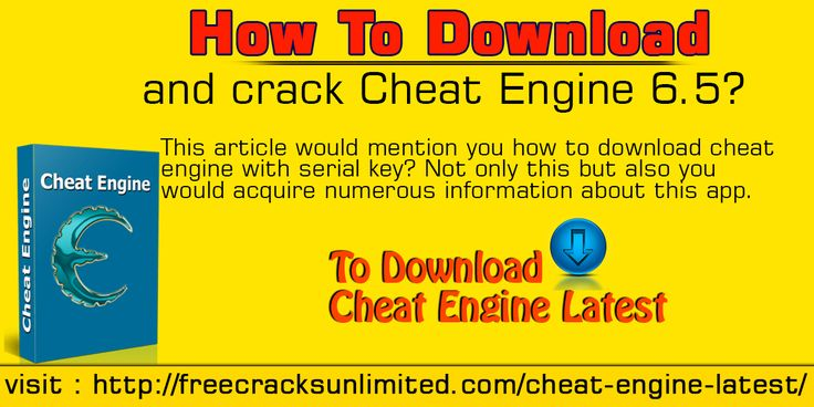 This article would mention you how to download cheat engine with serial key? Not only this but also you would acquire numerous information about this app.