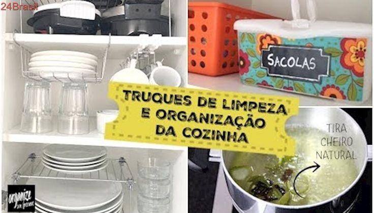 5 TOP TRUQUES DE LIMPEZA E ORGANIZAÇÃO DA COZINHA- ft. Papo de Mamãe Amélia