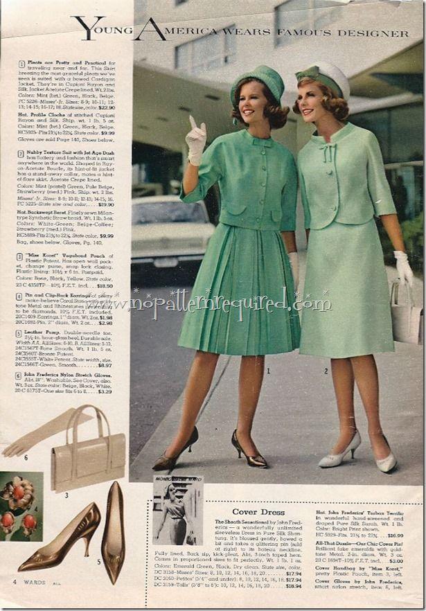 Vintage Montgomery Ward Spring And Summer 1962 Catalog