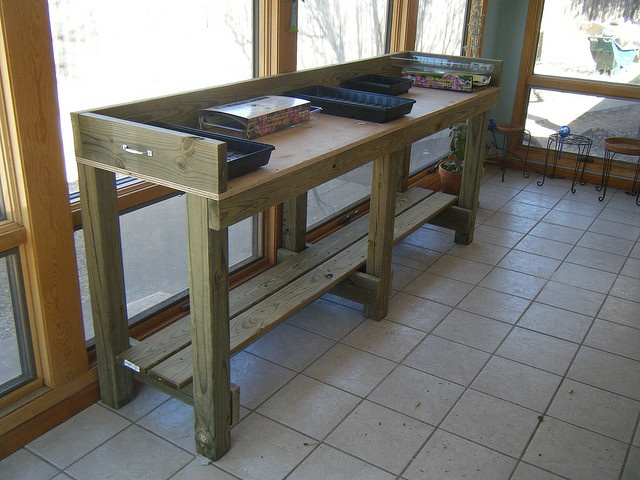 112 Best NEW POTTING BENCH PROJECT Images On Pinterest | Potting Benches,  Seed Starting And Gardening