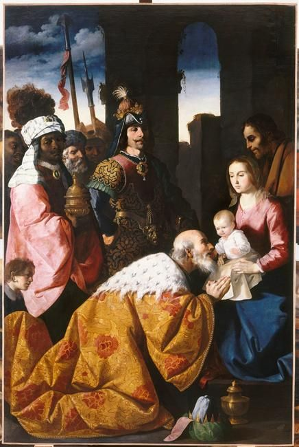 Adoration of the Magi - Francisco de Zurbaran: