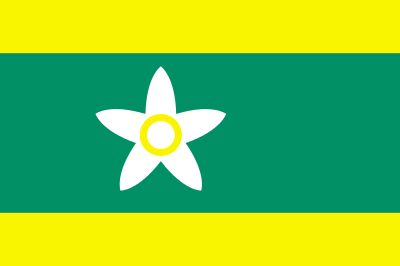 Flag of Ehime Prefecture Japan