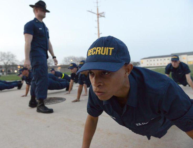 Coast guard boot camp