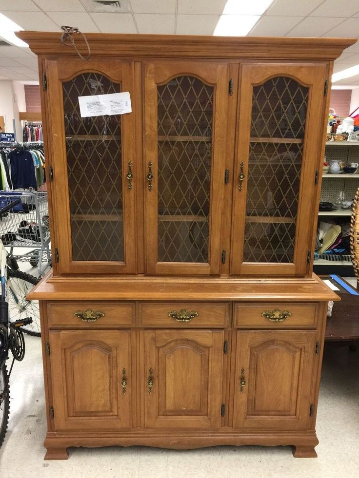 Transforming An Old China Cabinet in 2019  DIY  China