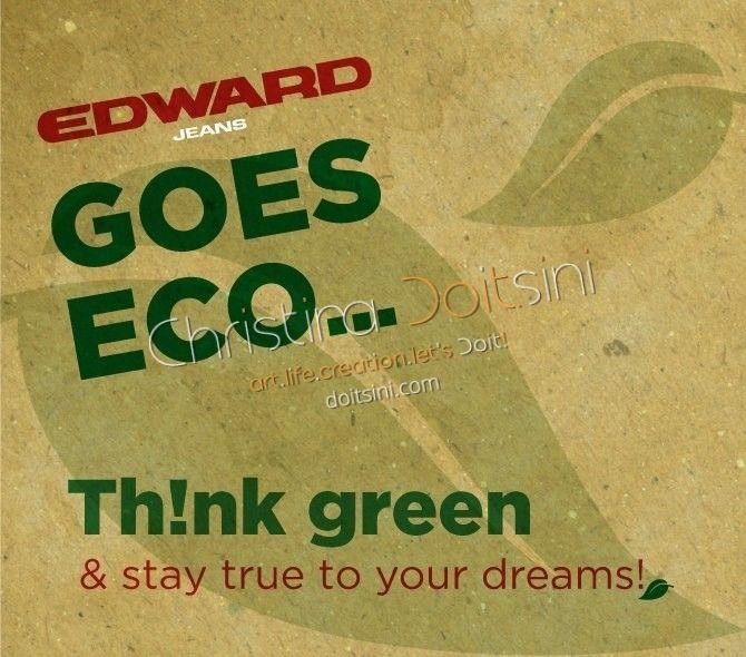 Graphic design, social media, Edward Jeans