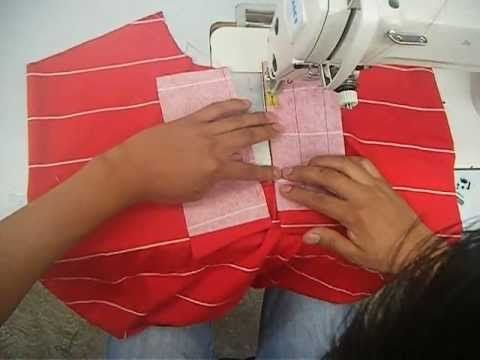 Sewing course how to sew a polo shirt 2 ✂ ✂ ✂ Kurs szycia plisa polo koszulka z dzianiny - YouTube