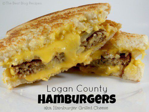 Well I'm not sure where Logan County is or why their hamburgers are famous, but I knew the moment I saw this Logan County Hamburger recipe that I'd love it!