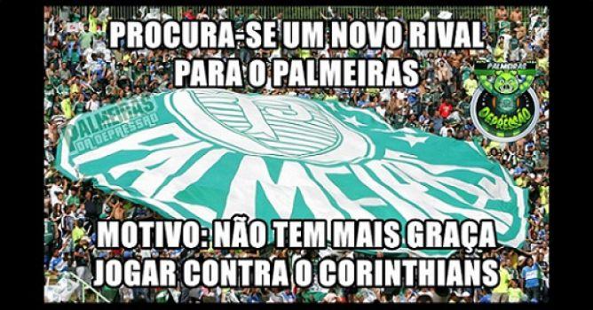 Corintianos sofrem com as gozações após derrota para o Palmeiras; veja os memes | notícias e jogos do seu time | LANCE!