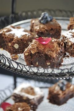 Heleen Meyer / RECIPES / Famous chocolate brownies