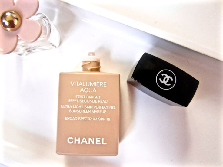 Chanel Vitalumiere Aqua Foundation Review | MakeupByMakena
