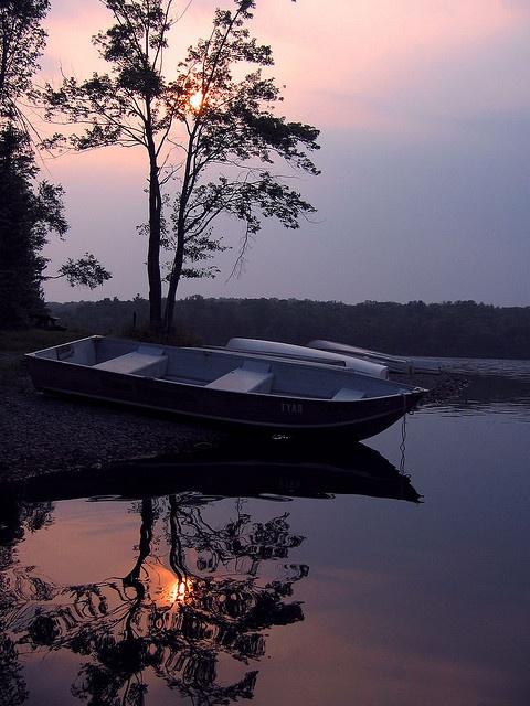 Lake Tobyhanna in the Pocono mountains.
