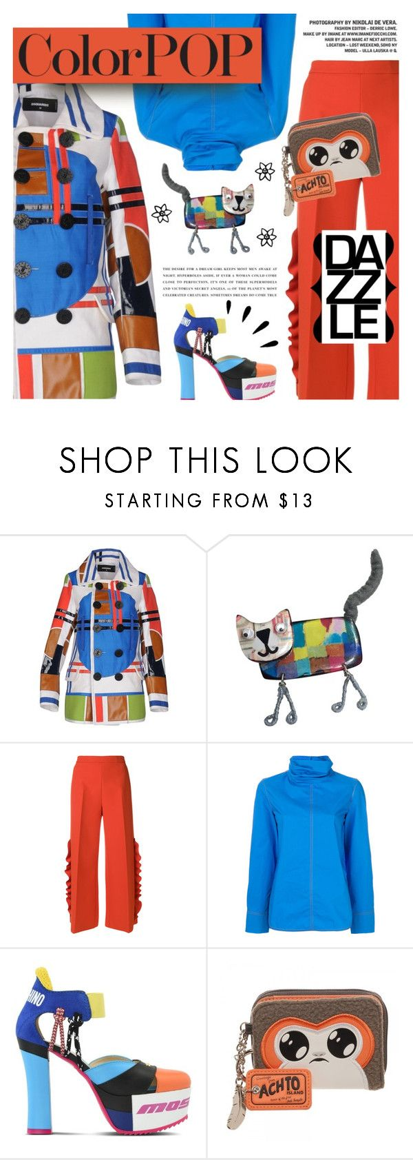 """""""Go Bold: Statement Coats"""" by xiandrina ❤ liked on Polyvore featuring Dsquared2, One Button, MSGM, Marni, Moschino, Episode, Kerr®, Old Navy and statementcoats"""