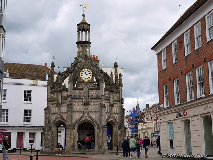 Chichester market cross. County of Sussex, South-East England.