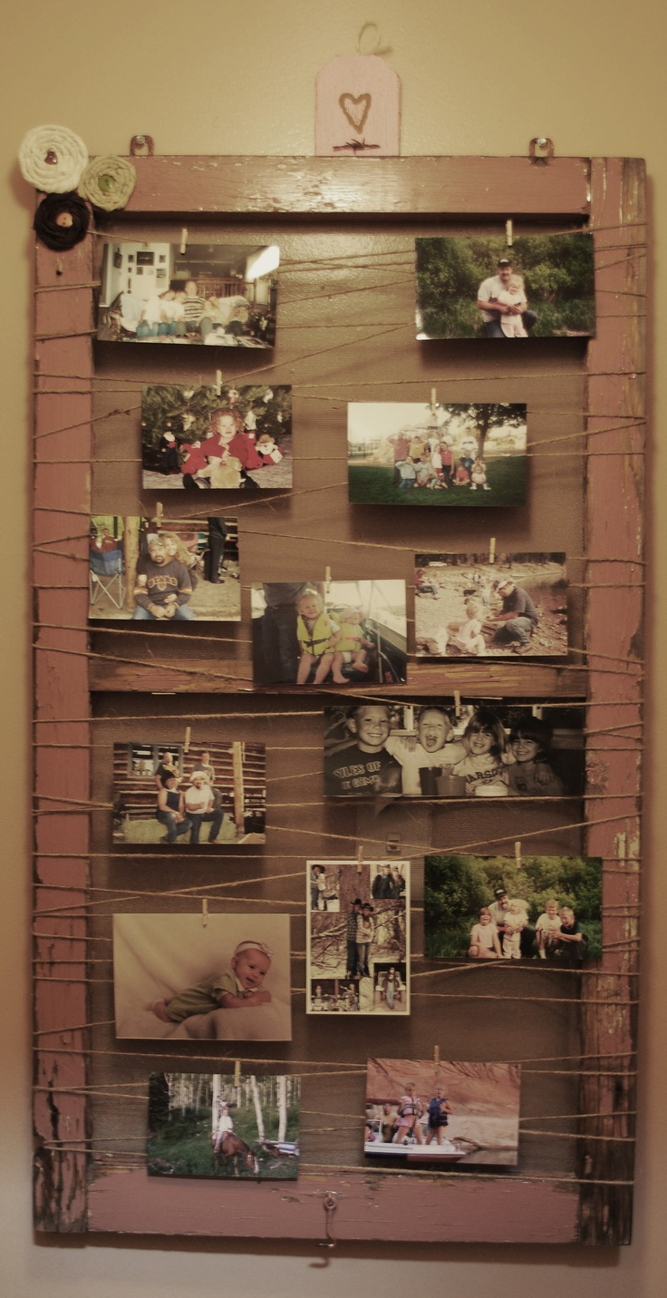 76 best wood window projects images on pinterest old windows picture frame made out of an old wood window jeuxipadfo Images