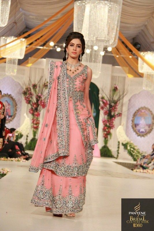 Hijaab Bridal Dresses Designs At Bridal Couture Week 2013 2014 Fashion