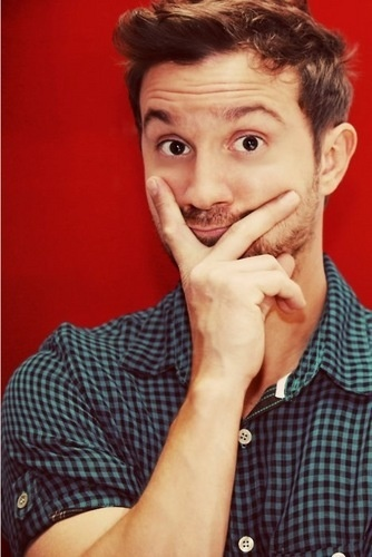 Sam Huntington...awkwardly cute and adorable in the best way possible.