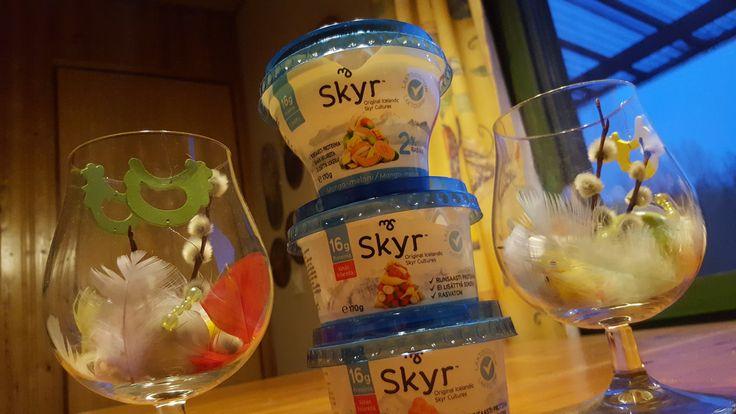 Skyr rahkoja saa nyt myös laktoosittomina. #skyrsuomi #hopottajat https://www.hopottajat.fi/skyr