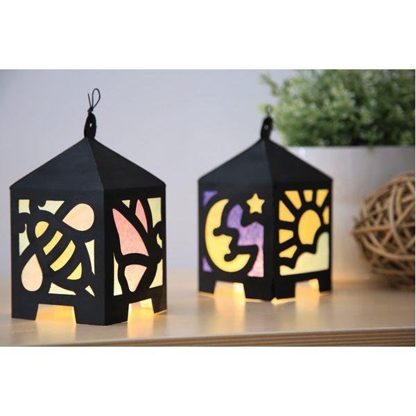 Romantyczne lampiony DIY #creative #fun #kids #zabawa #dekoracje #moje #bambino  http://www.mojebambino.pl/witraze-i-lampiony/315-zestaw-papierowych-lampionow.html
