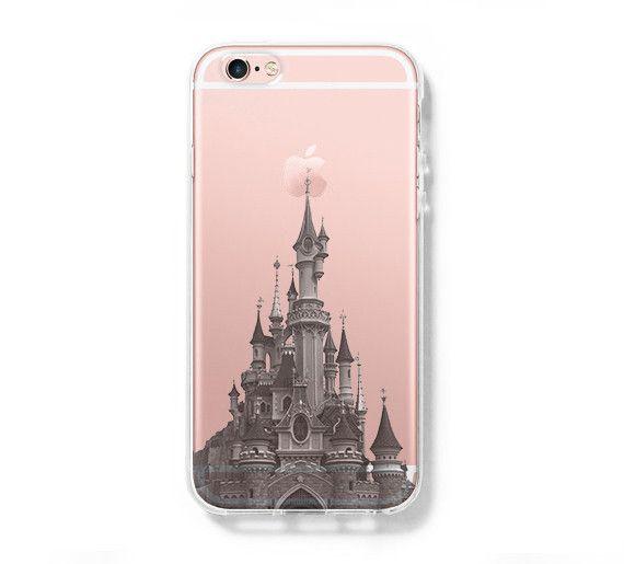 Disneyland Paris iPhone 6s 6 Clear Case iPhone 6 plus Cover iPhone 5s