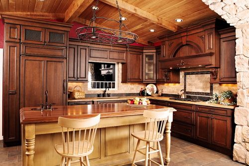 kitchens with hickory cabinets 1000 ideas about hickory kitchen cabinets on 6627