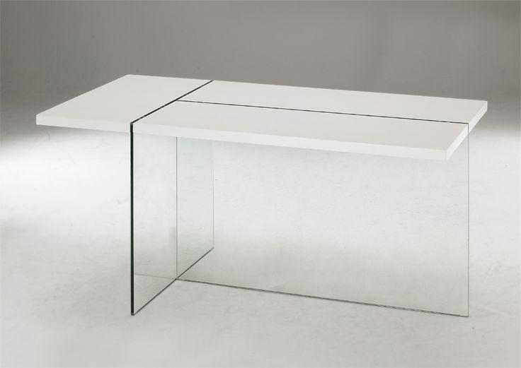 Table de Repas DELTA Blanc Mat