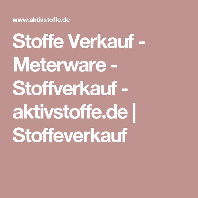 Stoffe Verkauf - Meterware - Stoffverkauf  - aktivstoffe.de | Stoffeverkauf