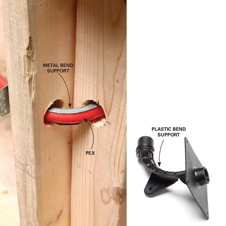 Avoid Kinks at Tight Corners - Plumbing With PEX Tubing: http://www.familyhandyman.com/plumbing/plumbing-with-pex-tubing#24
