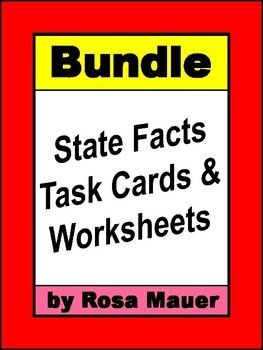 Get this state facts bundle to save time and money.Click the links below to find out about each product or to buy individually.uniquely Alabama Task Cards and WorksheetArizona State StudiesArkansas Hello USACalifornia Hello USACalifornia State StudiesCalifornia Welcome to the USAColorado Hello USA Task Card Set Uniquely  Connecticut Task Cards and Worksheet  Florida Hello USA Task Cards and Worksheet  Georgia Hello USA Task Cards and Worksheet Set   Illinois Hello USA Task Cards and…