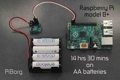 BattBorg - Power your Raspberry Pi from AA batteries | PiBorg