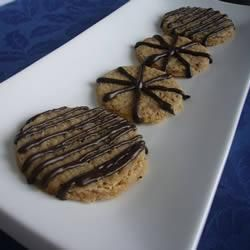 I made these for my bake off at work.  Like a flapjack but more biscuity, they flew off the cake stand.  Couldn't be more easy peasy.