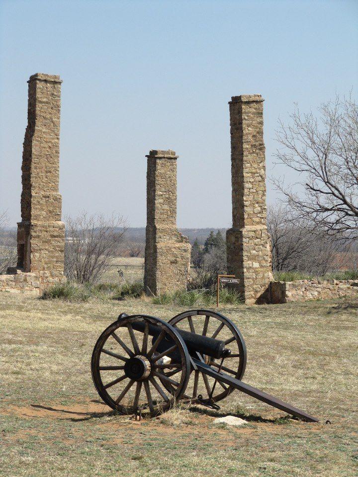Fort Phantom Hill outside of Abilene, Texas